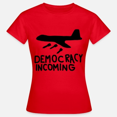 Kapitalism Democracy Incoming - T-shirt dam