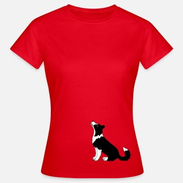 Border Collie Obedience 4 - Women's T-Shirt