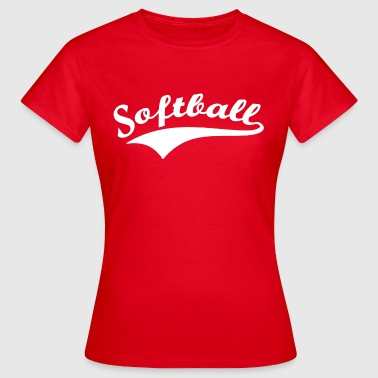 softball - Women's T-Shirt