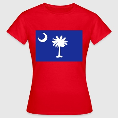 Flag South Carolina - Frauen T-Shirt