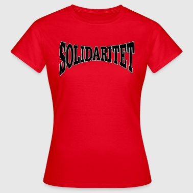 Solidarity (swe) - T-shirt dam
