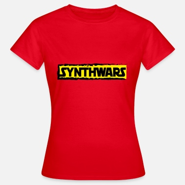 Ropa Gamer ropa Synthwars - Camiseta mujer