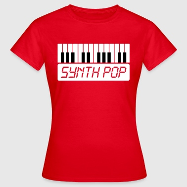 SYNTH-POP MUSIC (1) - Vrouwen T-shirt