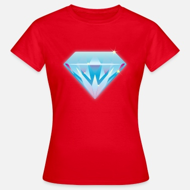 Swag Diamanten Diamant - Frauen T-Shirt