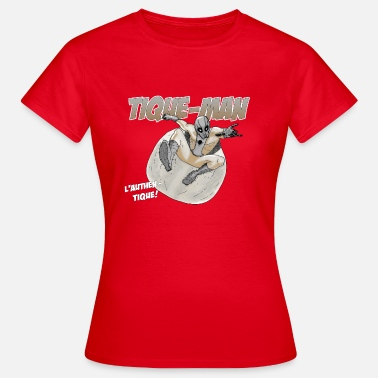 Ticker MAN TICK - T-shirt dam
