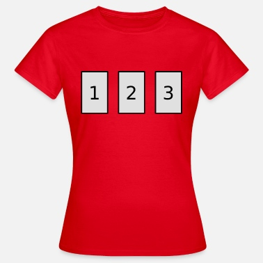 3 card spread - Women's T-Shirt