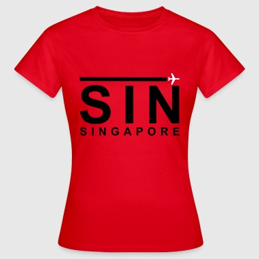 SIN Black - Women's T-Shirt