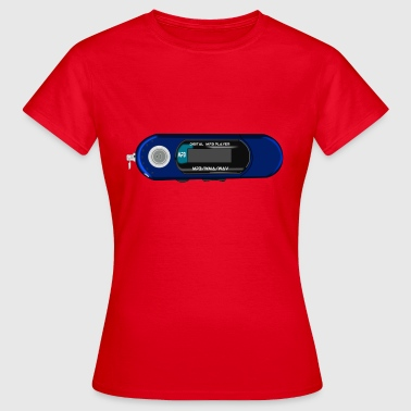 Mp3 Player Mp3 Player - Frauen T-Shirt