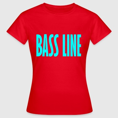 bass line - Women's T-Shirt