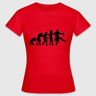 Polonasution | Evolution | Schlager Music Polonaise - Women's T-Shirt
