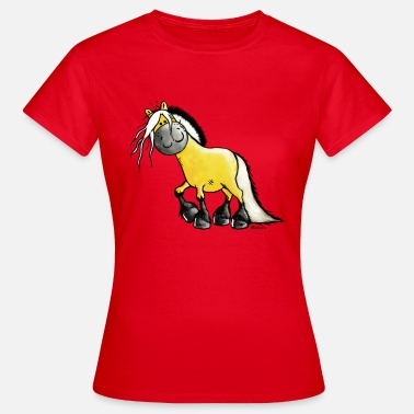 Fjord fjord paard - Vrouwen T-shirt