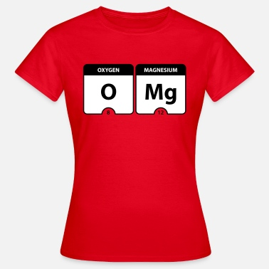 Periodic Table OMG Periodic Table - Frauen T-Shirt