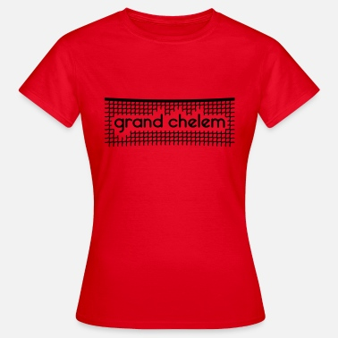 Grand Chelem Grand Chelem - Personnalisable - T-shirt Femme