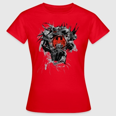Batman 'Compositon Character' Tee shirt manches lo - T-shirt Femme