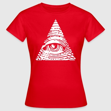 Triangle Eye Providence Eye of Providence - Women's T-Shirt