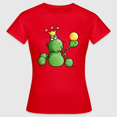 Funny Frog King - Frogs - Amphibian - Women's T-Shirt