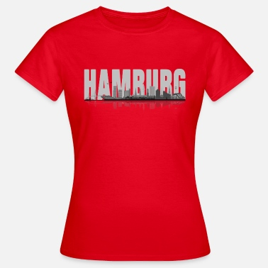Wahl Hamburger Hamburg 02 - Frauen T-Shirt