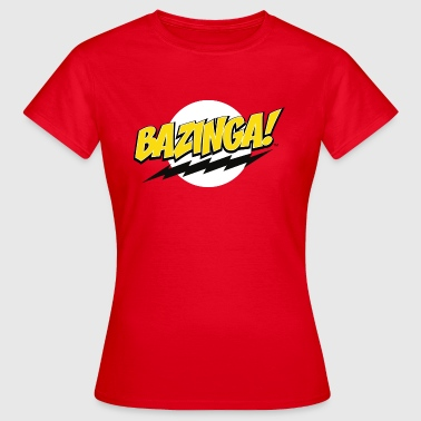 The Big Bang Theory Bazinga! teenager T-shirt - Vrouwen T-shirt