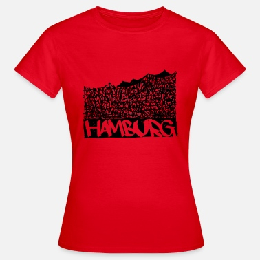 Music Hall Hamburg Music Hall - Sort - Dame-T-shirt