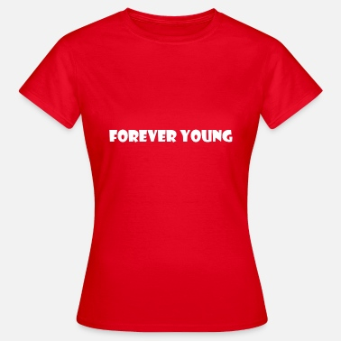 Young Money Forever Young White - Dame-T-shirt