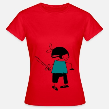 Graphic Pirates a pirate - Women's T-Shirt