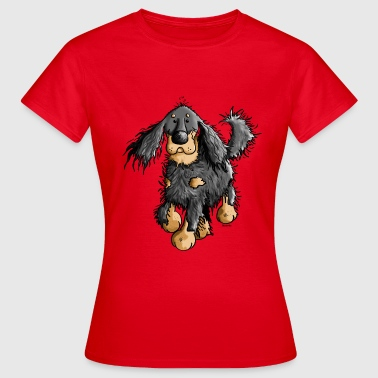 Flinker Gordon Setter - Hund - Frauen T-Shirt