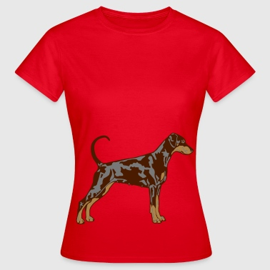 Pinscher Dobermann Pinscher Dog - Dame-T-shirt