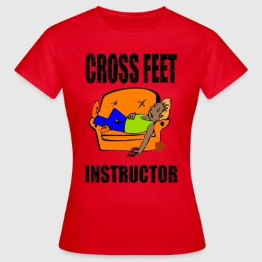 Instructeur Instructeur Crossfeet - T-shirt Femme