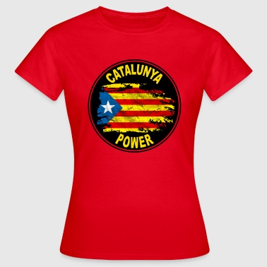 catalunya power 03 - T-shirt Femme
