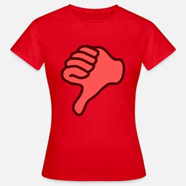 Thumbs Down thumbs down - Women's T-Shirt