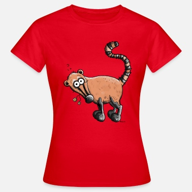 Coati Funny Coati - Women's T-Shirt