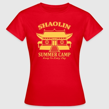 Shaolin Summer Camp - T-shirt dam