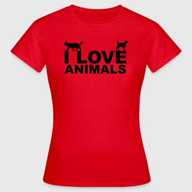 Libération Animale Animals - T-shirt Femme