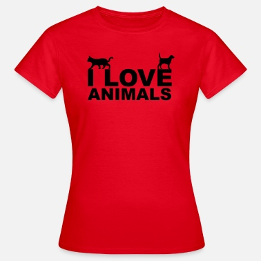 Animal Rights Animals - Vrouwen T-shirt