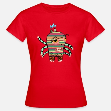 Monster Arms Elek the monster has six arms - Women's T-Shirt