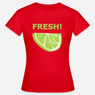 Lime Slice Fresh lime - gift idea - Women's T-Shirt