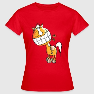 Cheval Riant - Chevaux - T-shirt Femme