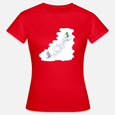 Snowballs Downhill snowball - Women's T-Shirt