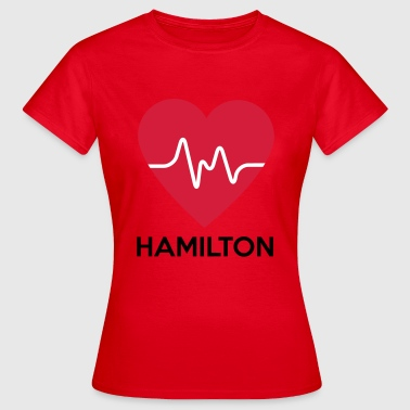 heart Hamilton - Women's T-Shirt
