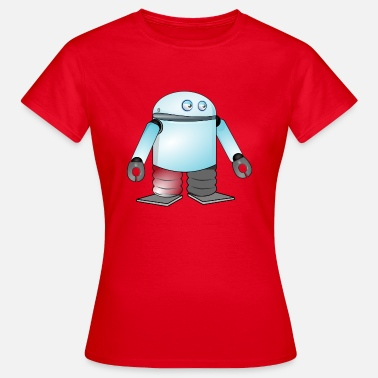 Android android - Frauen T-Shirt