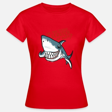 Back Scratch Great White Shark Scratch My Back - Women's T-Shirt