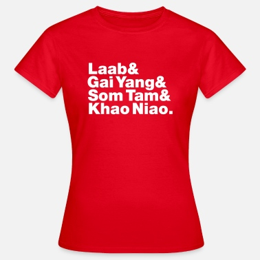 Green Street Thai Isaan Street Food - Women's T-Shirt