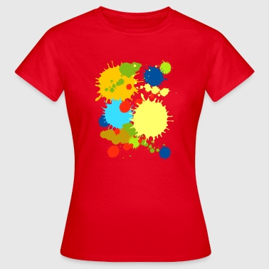 Colorful Splash - Frauen T-Shirt
