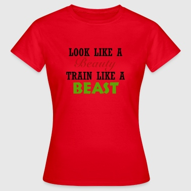 Beauty Beast Beauty - Beast - Women's T-Shirt