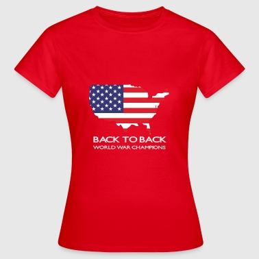 Back to back world was champions - Women's T-Shirt