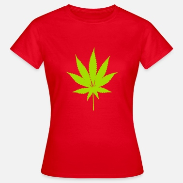 Cannabisblad Cannabisblad - T-shirt dam