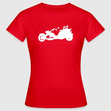 Tricycle trike - T-shirt Femme