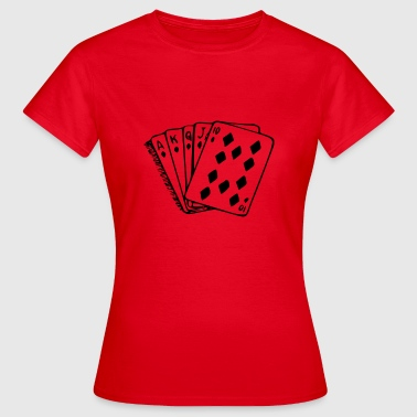 Royal Flush Royal flush - Women's T-Shirt