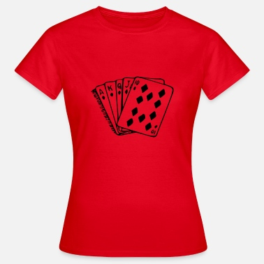Royal Flush Royal flush - Dame-T-shirt