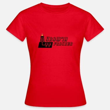 Frack Growth Fracker - T-shirt dam